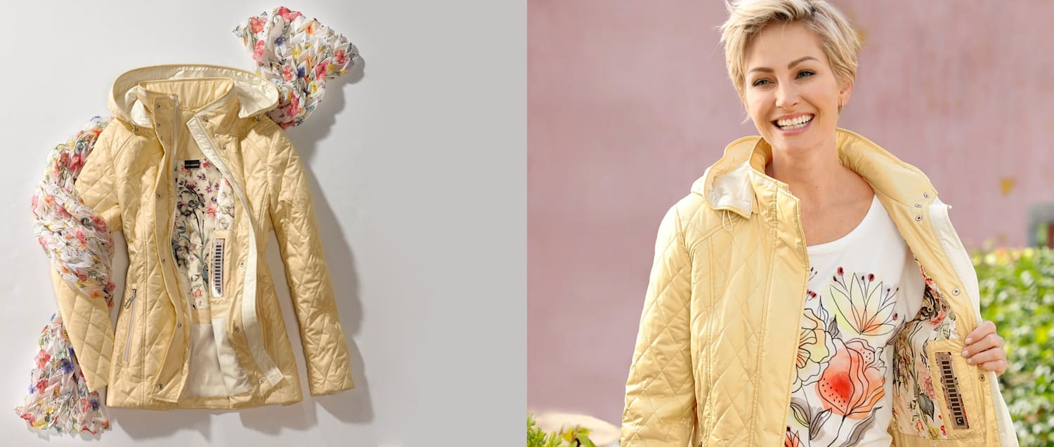 Discover our transitional jackets
