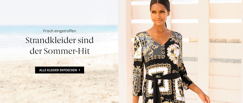 Strandkleider sind der Sommer-Hit