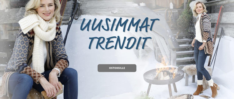 naisten vaatteet trendit