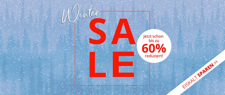 Winter SALE: bis zu 60% reduziert!