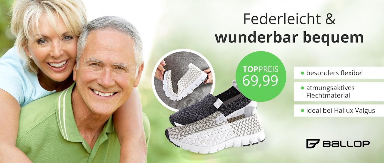 Wellsana Ballop Schuhe