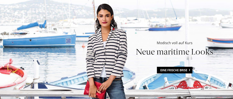 Modisch voll auf Kurs mit den neuen maritimen Looks