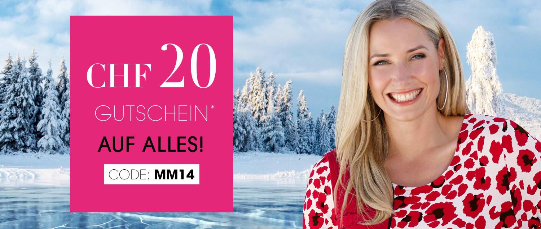MIAMODA Grosse Groessen Mode CHF20 Gutschein Code: MM14