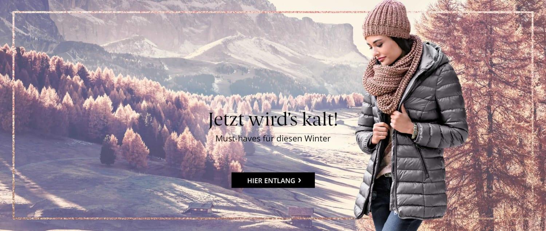Wohlige warme Wintermode