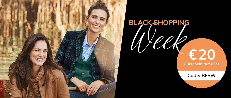 Black Shopping Week bei MONA