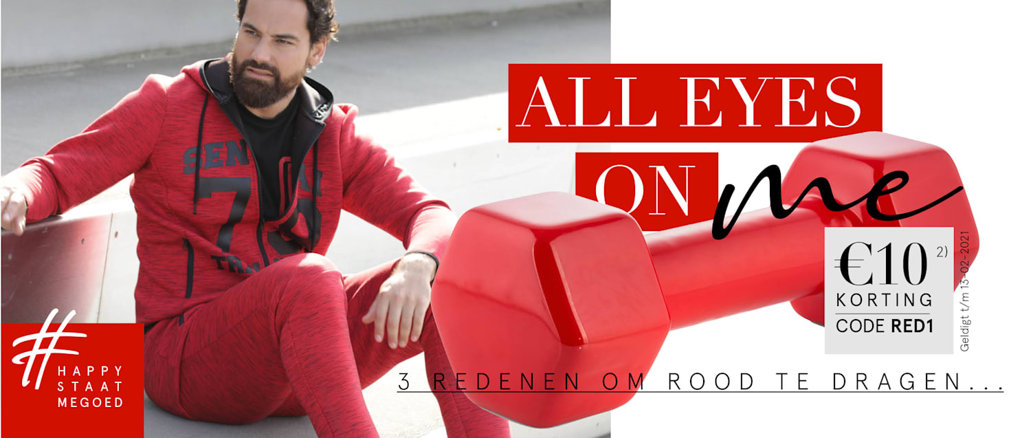 All eyes on me €10 Korting | Code: RED1