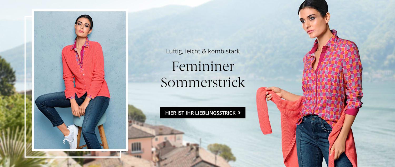 Femininer Sommerstrick