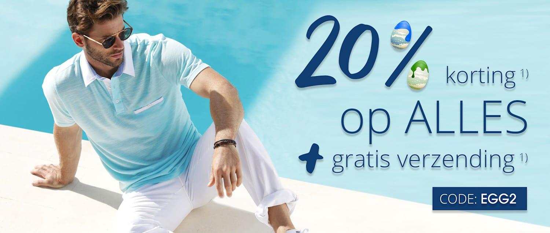 20% korting op ALLES & gratis verzending CODE: EGG2