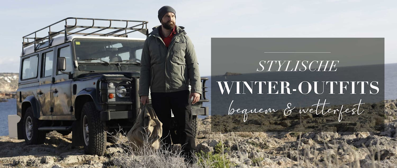 Stylische Winteroutfits für Herren
