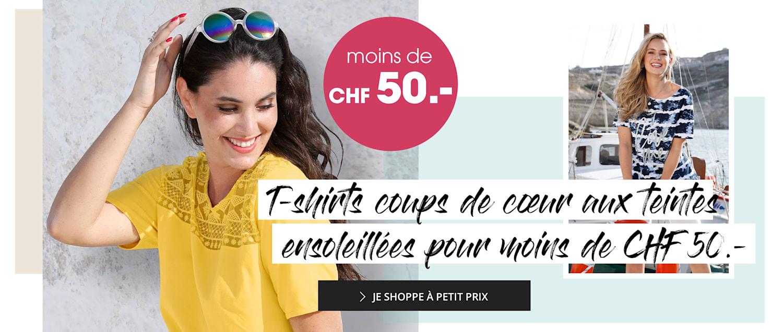Chemises MIAMODA grandes tailles à moins de CHF 50.-