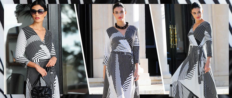Alba Moda Motiv Kleid