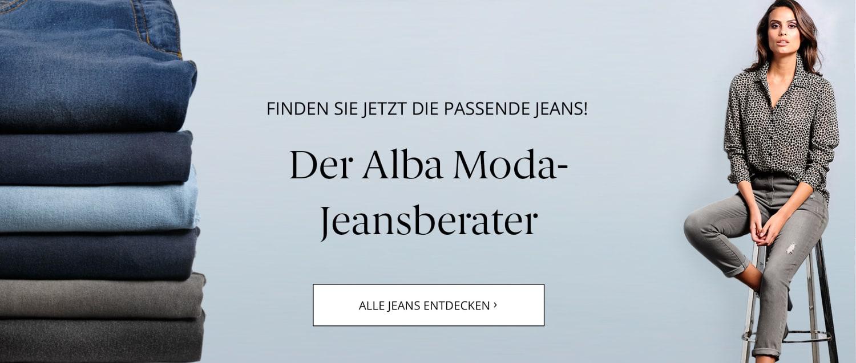 Der Alba Moda Jeansberater