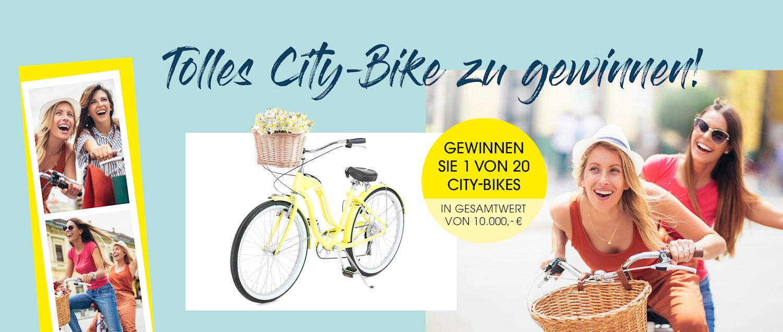 MIAMODA Große Größen 1 von 20 City Bikes im Gesamtwert von 10.000€ gewinnen