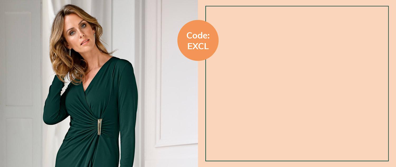 15% auf Ihren Einkauf, Code: EXCL
