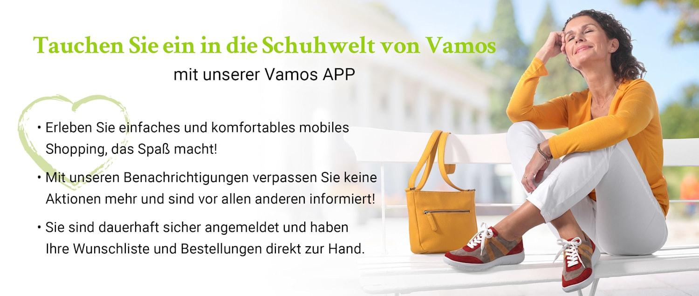 Viele Vorteile mit der Vamos App genießen