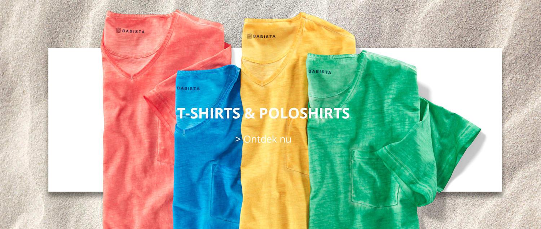 T-Shirts & Poloshirts