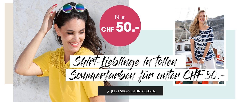 MIAMODA Große Größen Shirts unter 30€