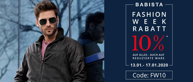 BABISTA Fashion Week - 10% Rabatt mit Code: FW10