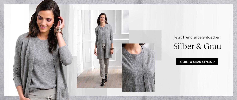 Entdecken Sie Ihre Trendfarben Silber & Grau