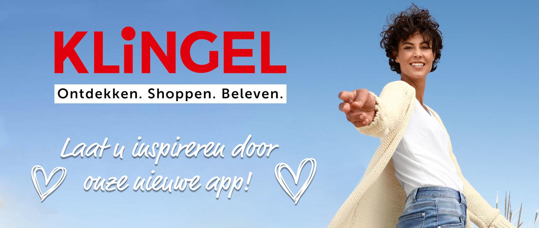 De nieuwe KLiNGEL shopping-app is er!