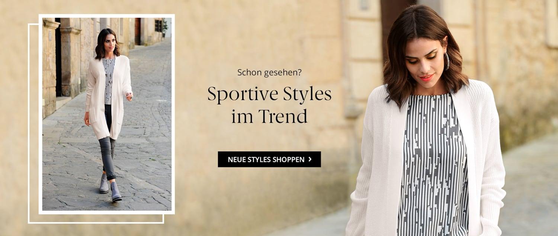Sportive Styles in Trend