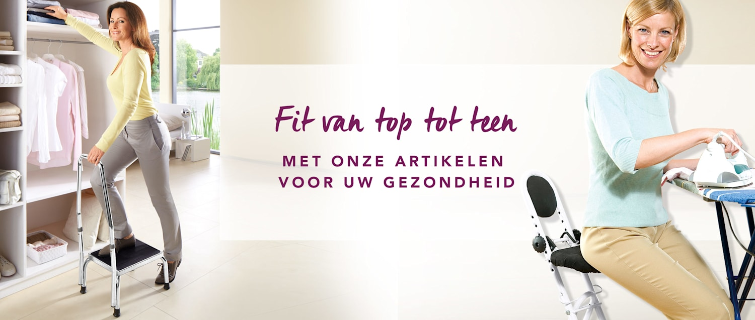 Fit van top tot teen