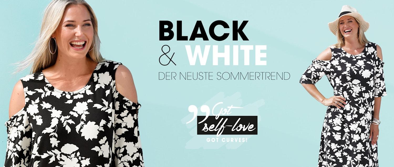 MIAMODA Große Größen Black & White Trend