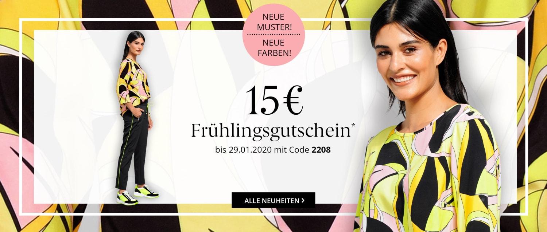 15 Euro Frühlingsgutschein