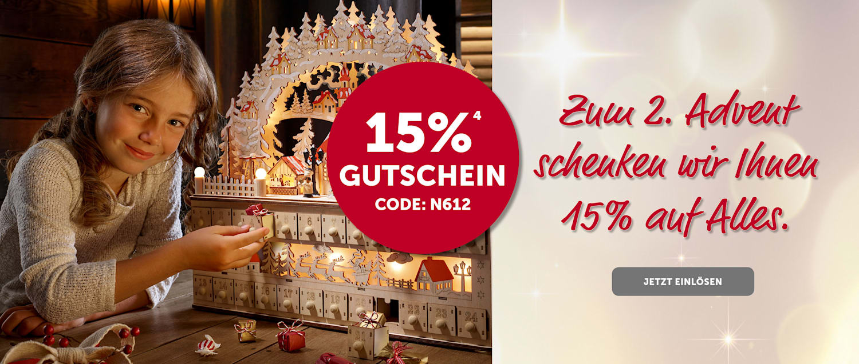 15% GS zum 2. Advent