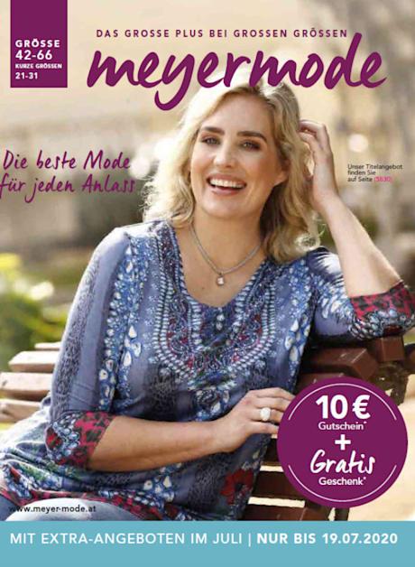 Der neue Meyermode-Katalog