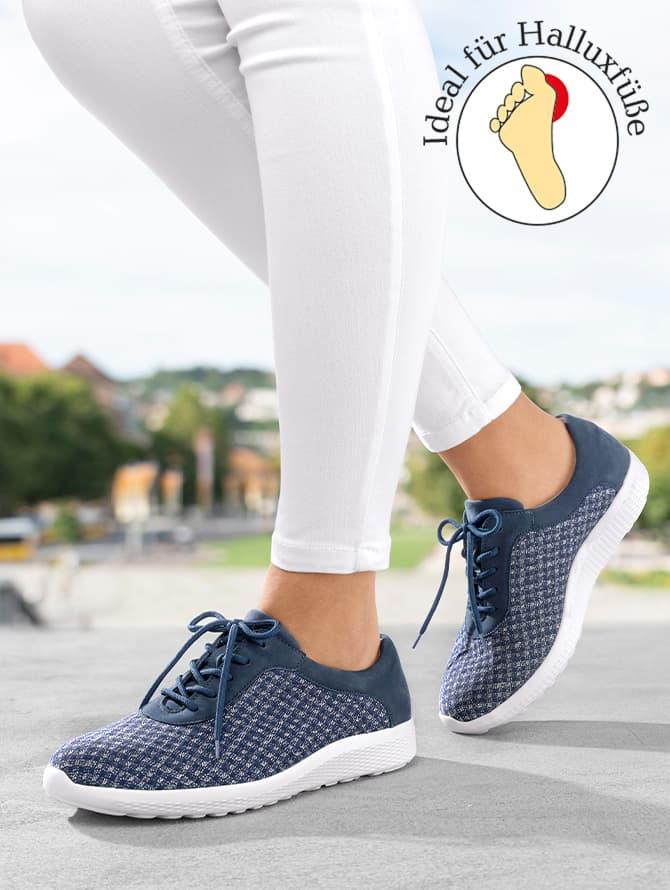 Schuhe für Halluxfüße