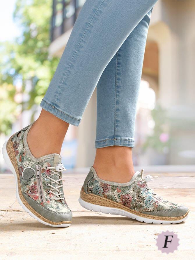 Largeurs des chaussures F