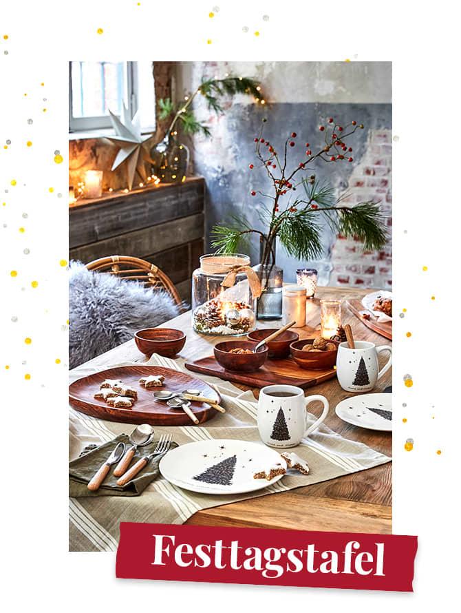 Weihnachten - Festtagstafel