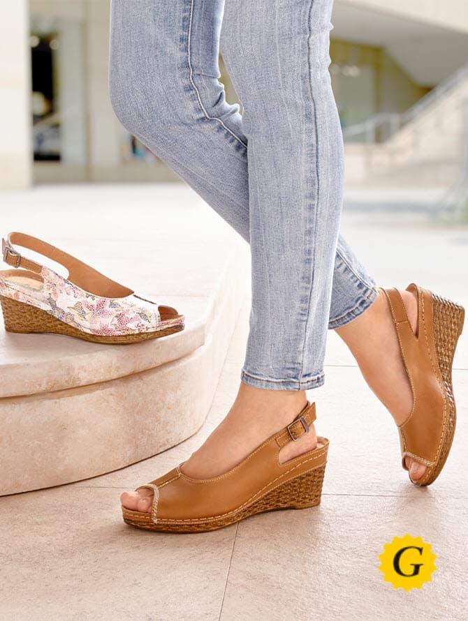 Schuhe in Weite G