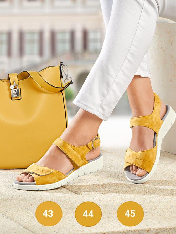 Chaussures femmes en largeurs spéciales