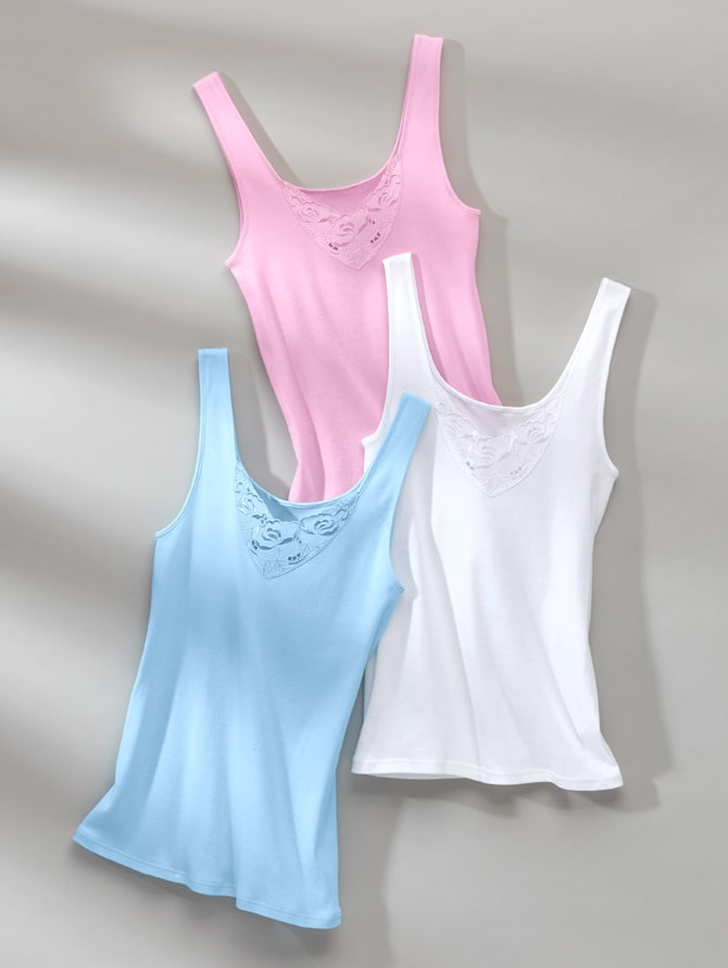 WELLSANA | Caracos & chemisettes pour femmes