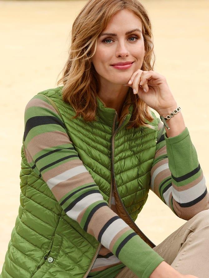 Mode in grün entdecken