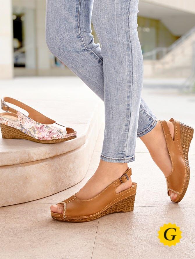 Tous les modèles en largeur de chaussures G