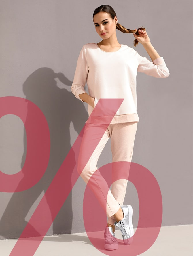 Shop our on-sale leisurewear