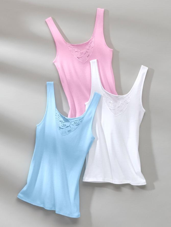WELLSANA | Damenunterhemden: das perfekte Darunter