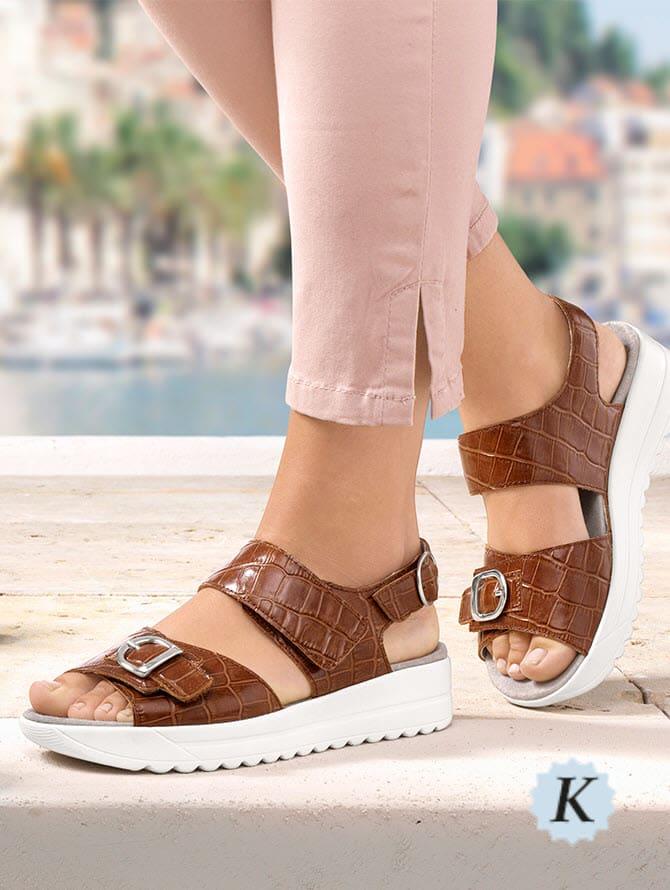 Schuhe in Weite K