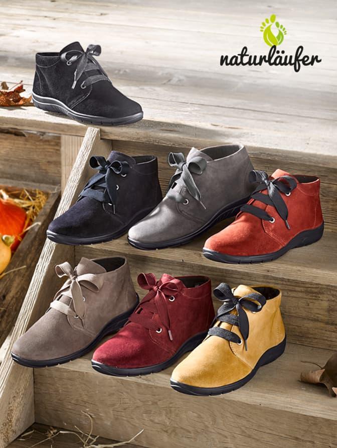 Schuhe von Naturläufer bei WELLSANA: perfekte Passform & schicke Designs