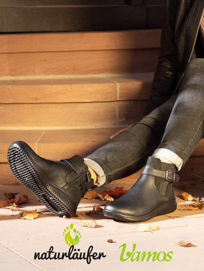 Schuhe der Marke Naturläufer und Vamos