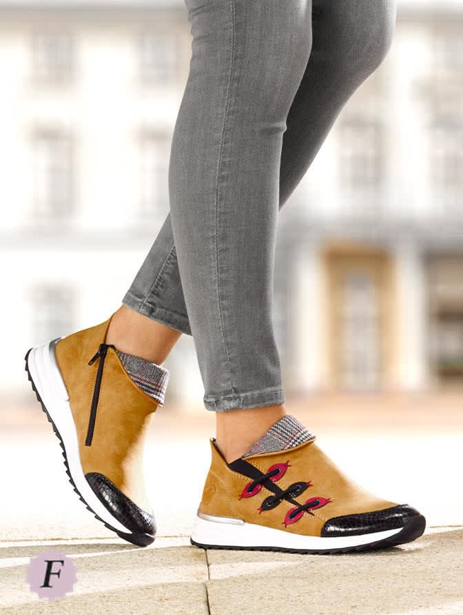 Schoenen in wijdte F