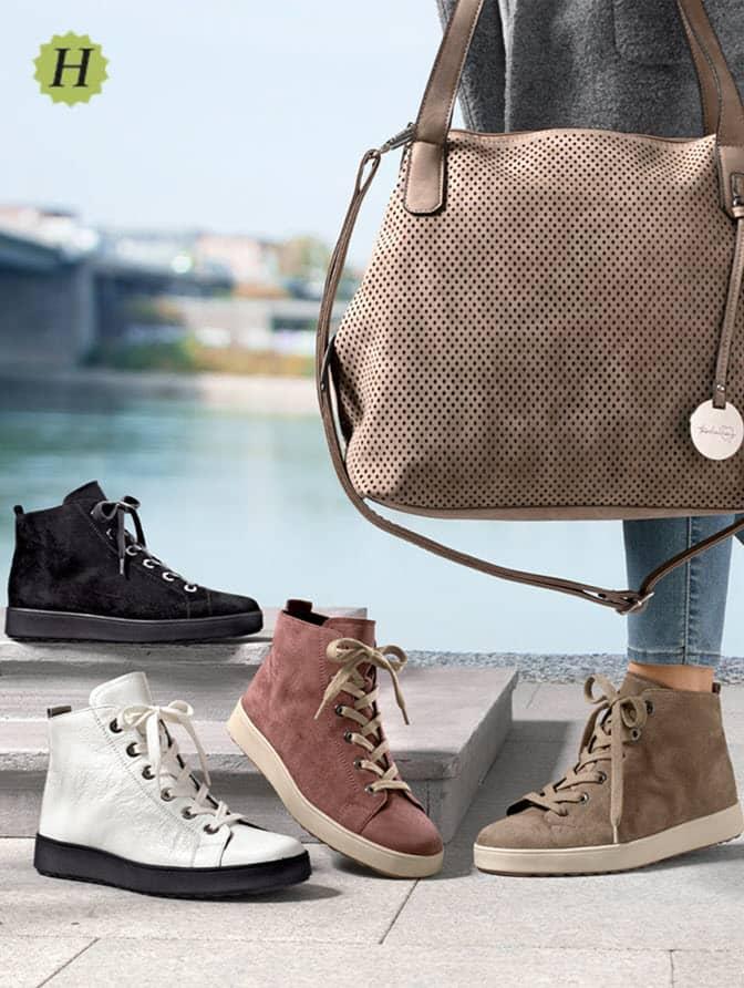 Schoenen in wijdte H