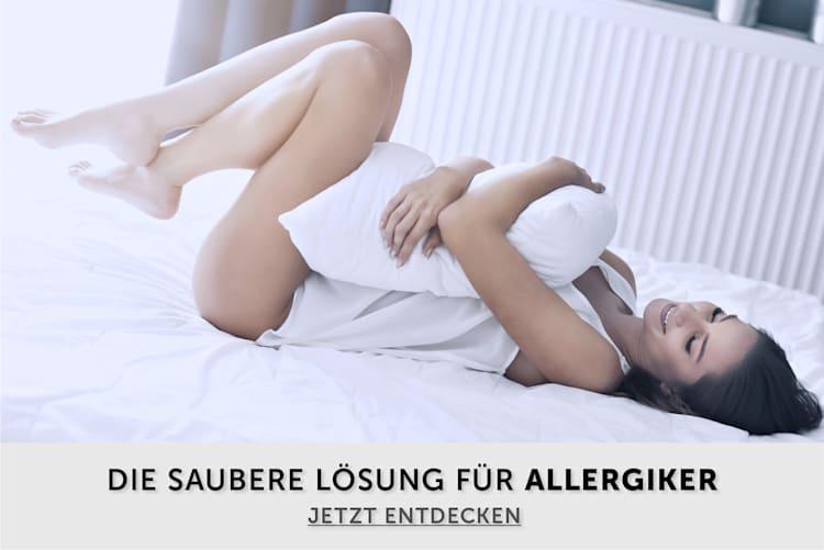 Die saubere Lösung für Allergiker