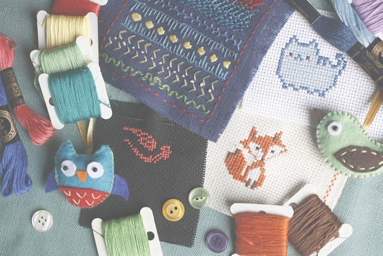fashion upcycling creatief naaien borduren