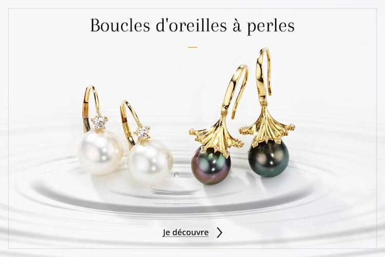 Boucles oreilles perles