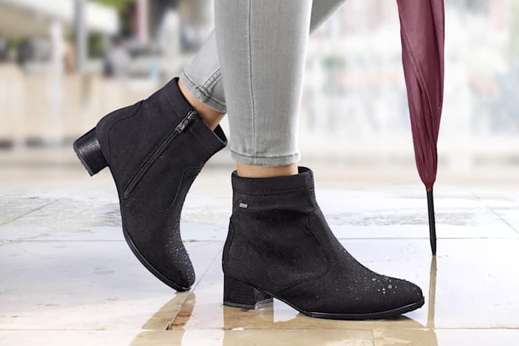 Wasserabweisende Schuhe für regnerische Tage