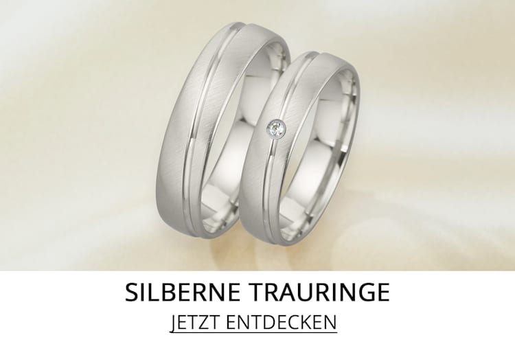 Trauringe in Silber